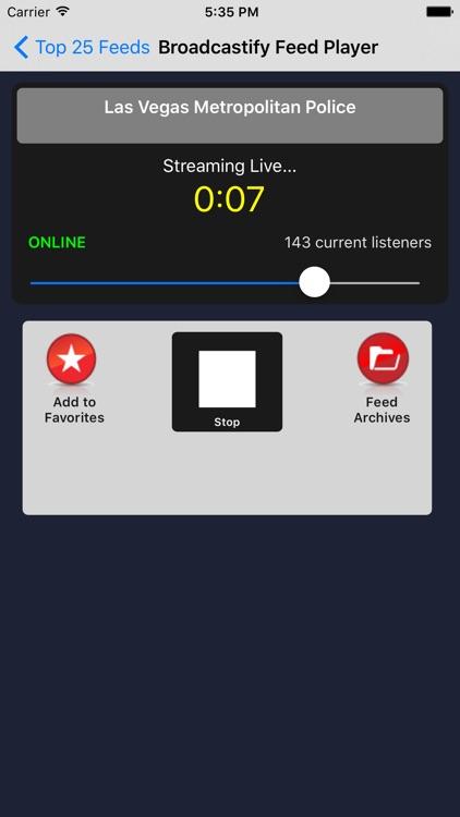 Broadcastify Pro app image