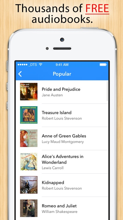 Audiobooks - Thousands of free Audiobooks and Podcasts. screenshot-0
