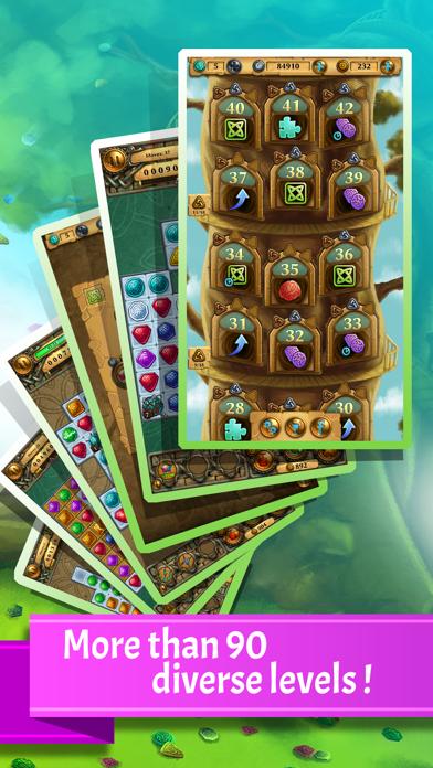 Jewel Tree: Match It puzzle (full)のおすすめ画像2