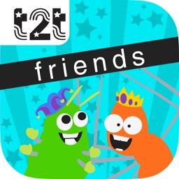 Teach2Talk's Behaviors with Friends