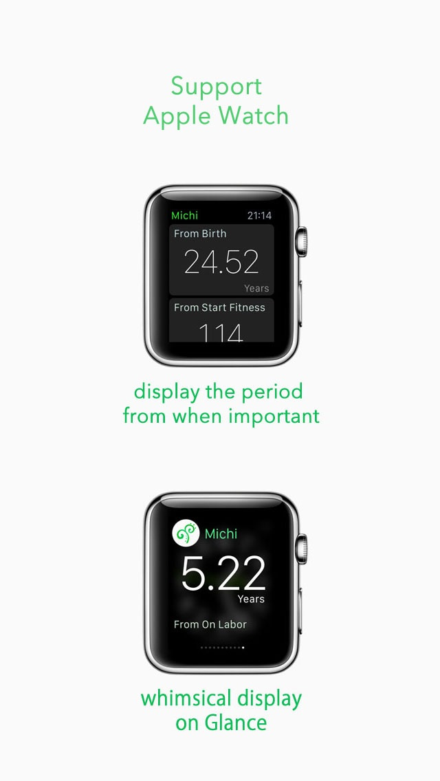 Michi -From That Day- for Apple Watch screenshot three
