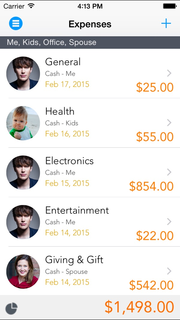 Expense Manager - Pocket Edition on the AppStore