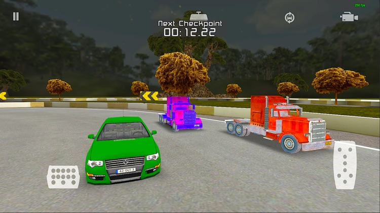 The Chase Racing : Realistic 3D lorry and Car driver racing game screenshot-3