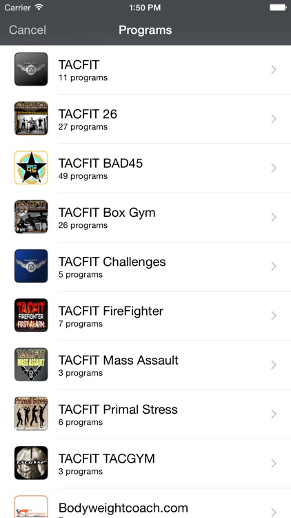TACFIT Trainer screenshot-2