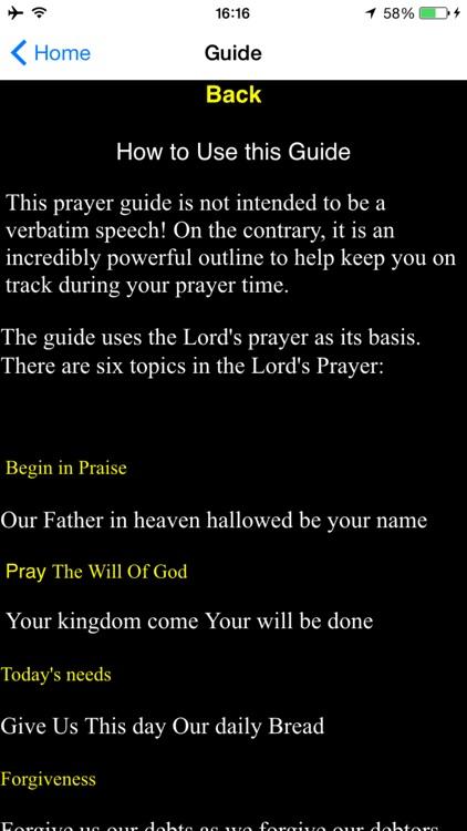 Daily Prayer Guide-How to Pray