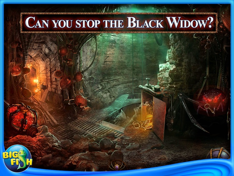Web of Deceit: Black Widow HD - A Hidden Object Adventure screenshot-3