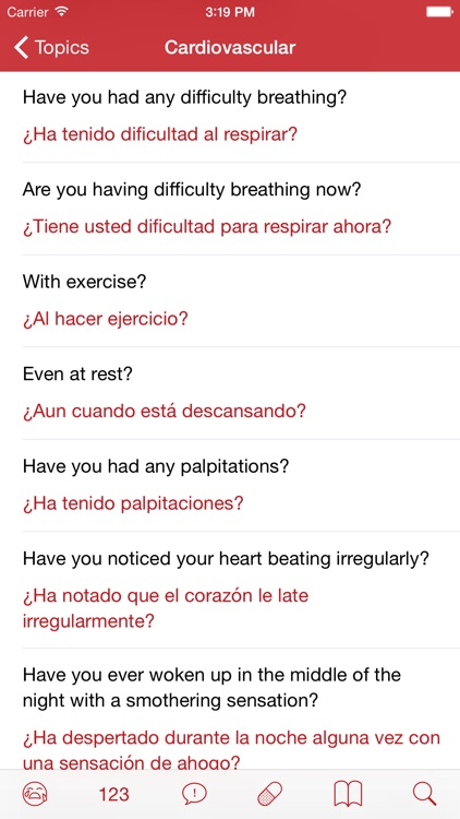 Medical Spanish: Healthcare Phrasebook with Audio screenshot-4