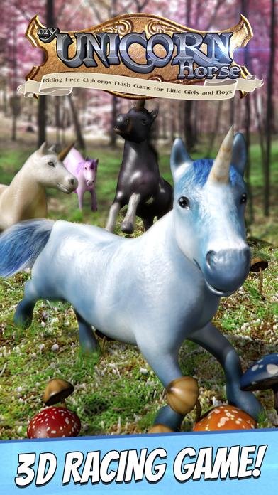 My Unicorn Horse Riding . Free Unicorns Dash Game For Little