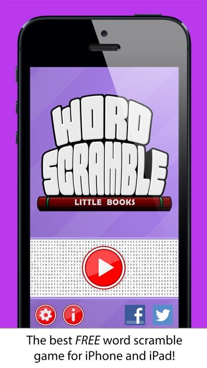 Word Scramble Little Books screenshot-4