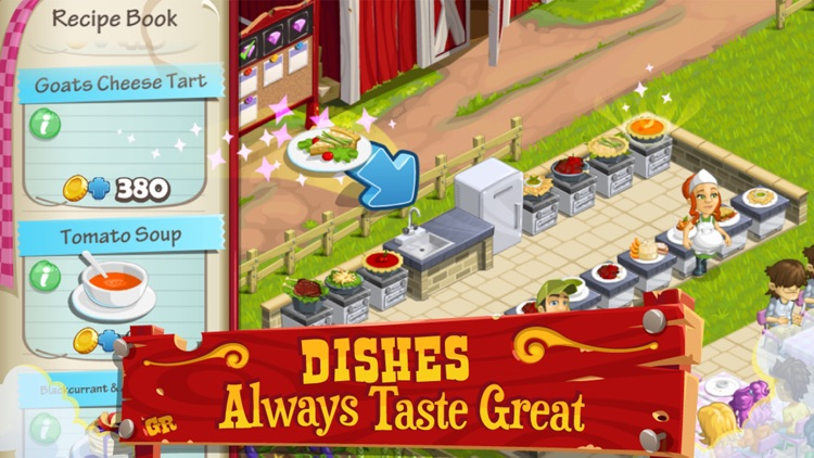 Gourmet Ranch: Farm, Cook and Serve screenshot-1