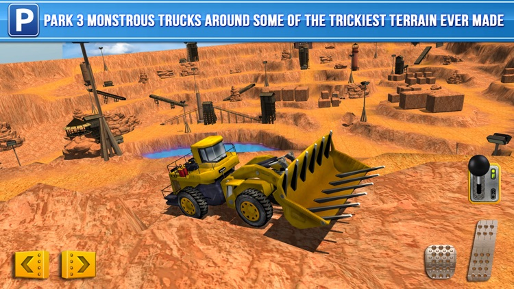 Mining Trucker Parking Simulator a Real Digger Construction Truck Car Park Racing Games