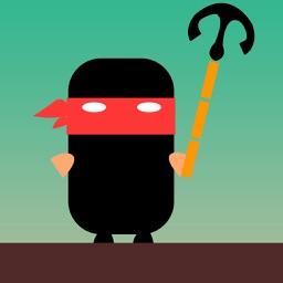 Enter the Ninja - Grappling hook master!