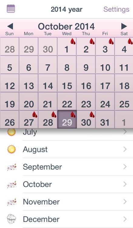 Woman Calendar - iCycle