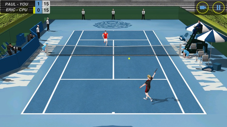 Flick Tennis screenshot-1