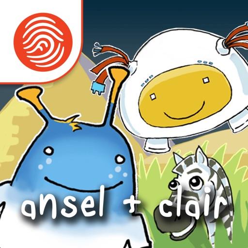 Ansel & Clair's Adventures in Africa - A Fingerprint Network App