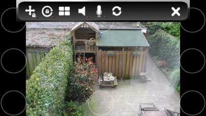 IP Camera Viewer ELRO iPhone app afbeelding 2