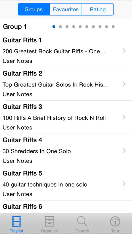 Guitar Riffs Revealed