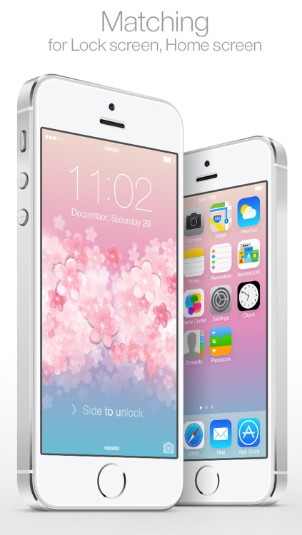 CherryLock : Cherry Blossom theme wallpapers ( for Lock screen ) screenshot-3