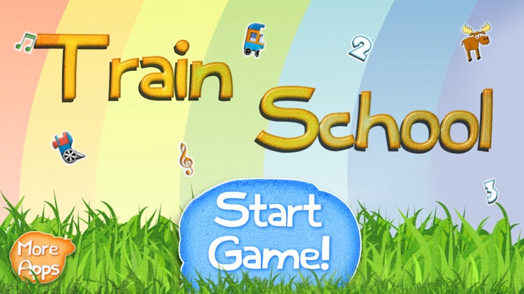 Train School: Toddler Games for Young Conductors screenshot-0