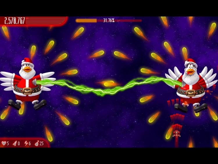 Chicken Invaders 4 Xmas HD screenshot-4