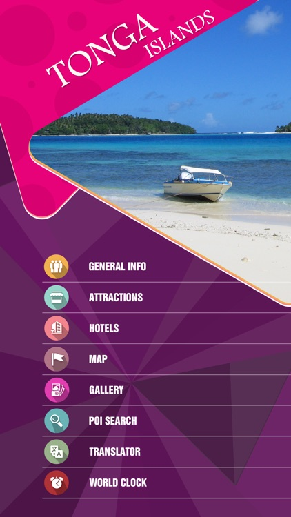 Tonga Islands Offline Travel Guide