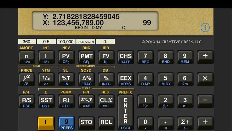MathU 12D Financial Calculator