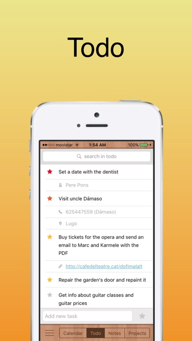 Toucan 6: calendar + todo Screenshots