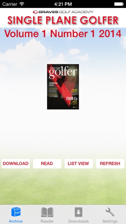 Single Plane Golfer screenshot-0