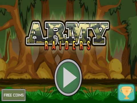 Army Raiders - War Battle of Soldiers in the Wilderness-ipad-2