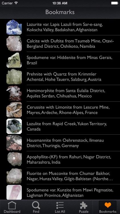 Minerals Encyclopedia Pro screenshot-4