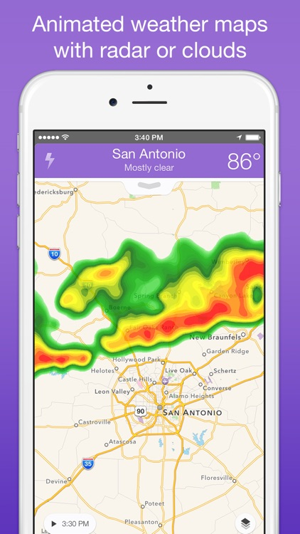Perfect Weather - NOAA Radar, Forecast, and Severe Weather Alerts screenshot-4