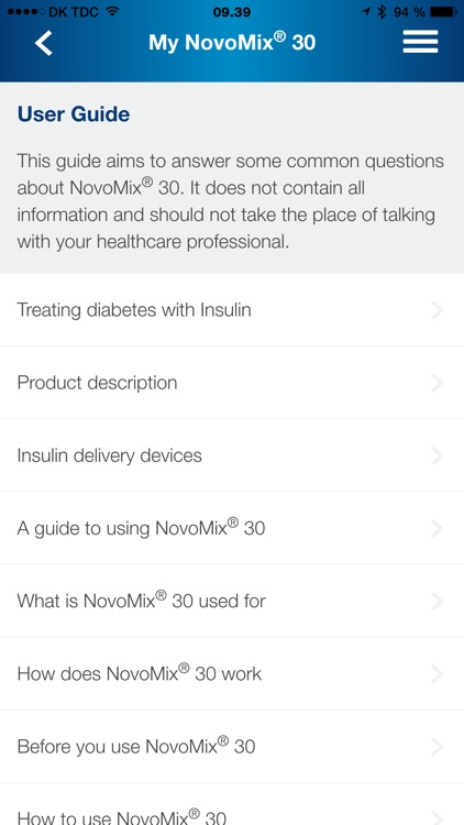 NovoMix® 30 My Guide