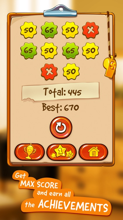 Om Nom: Candy Flick screenshot-3