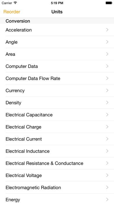 Units - Free Unit Converter screenshot two