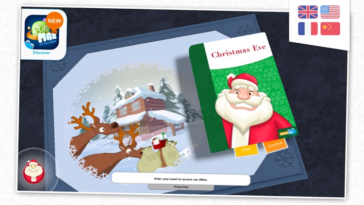 Christmas Eve - Santa's storybook for kids