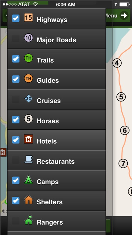 Torres del Paine Park Map screenshot-4
