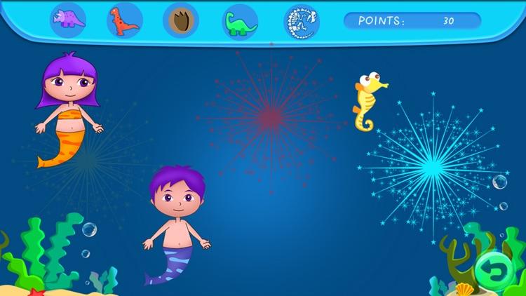 Anna's mermaid bubble pop adventure - free kids learning games screenshot-3