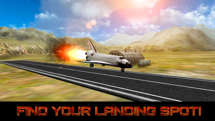 Space Shuttle Landing Simulator 3D Free by Games Banner Network