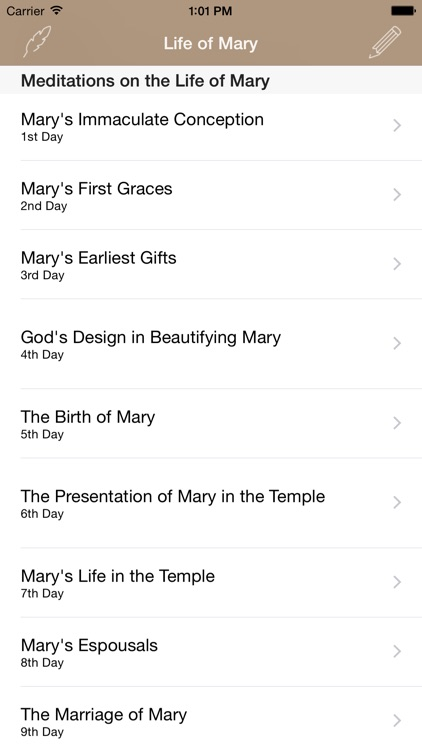 Life of Mary: Catholic Meditations for Every Day in a Month screenshot-4