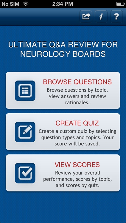 Ultimate Q&A Review for Neurology Boards screenshot-0