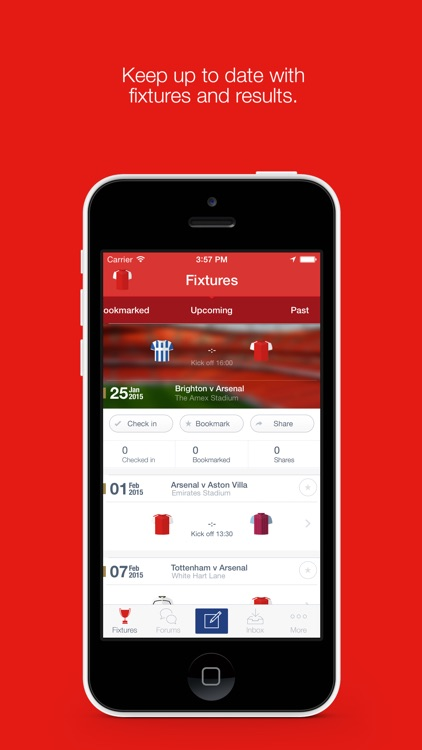 Fan App for Arsenal FC