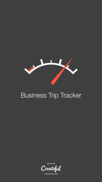 Business Trip Tracker - A Simple Mileage Log