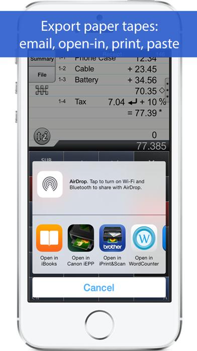 Accountant Calculator review screenshots