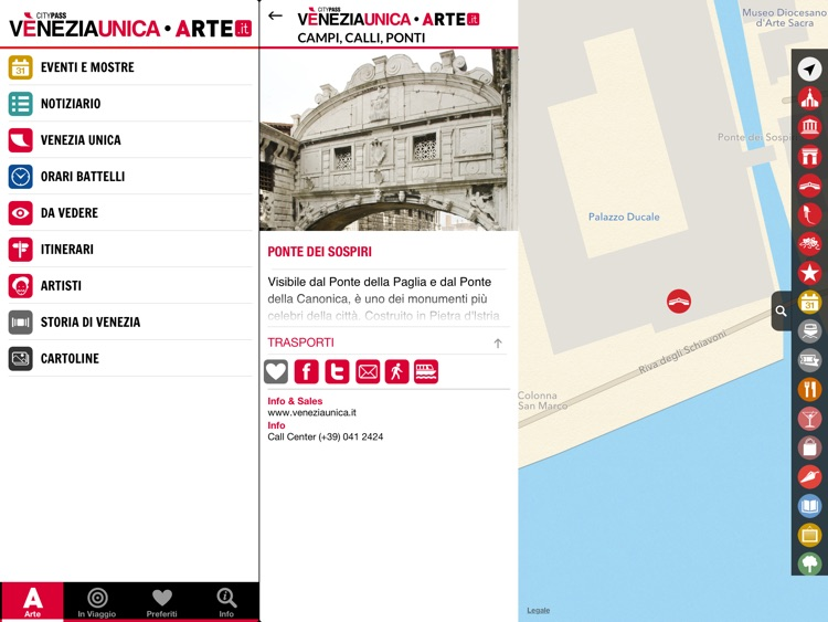ARTE.it Venezia Unica for iPad screenshot-4