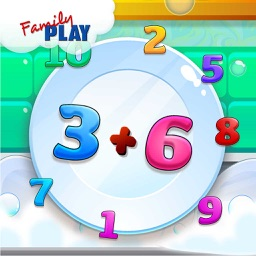Math Plates Basic Math Challenge a Fun Learning Game for Kids