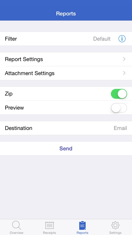 Receipts Pro - Income, Expense, and Mileage Tracker with Reports (upload to Dropbox / Evernote) and Budgets screenshot-3