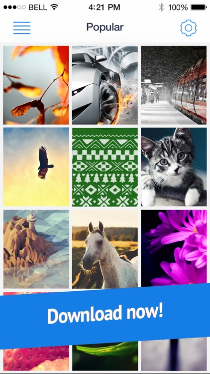 Wallpapers for iPhone 6 and 6 Plus (Retina HD ready parallax backgrounds) screenshot-4
