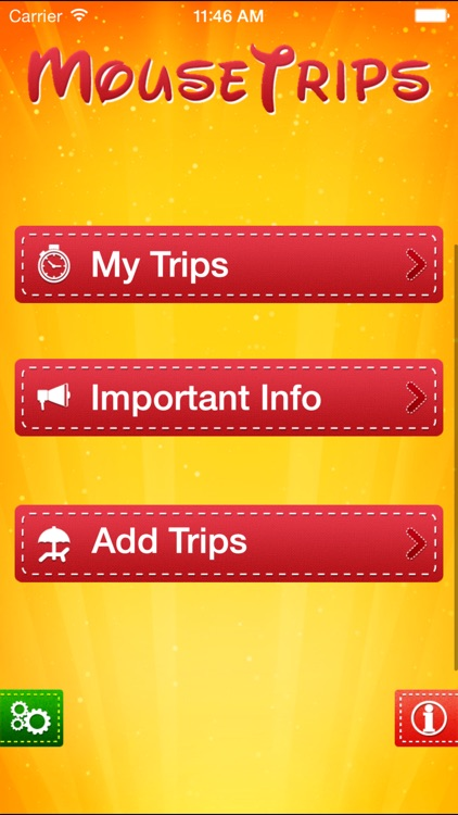 Mousetrips - A Disney Trip Planner screenshot-0