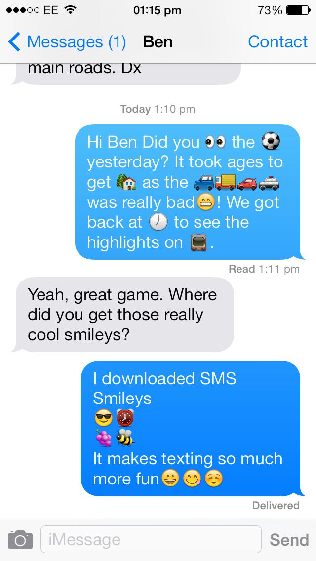SMS Smileys for Windows