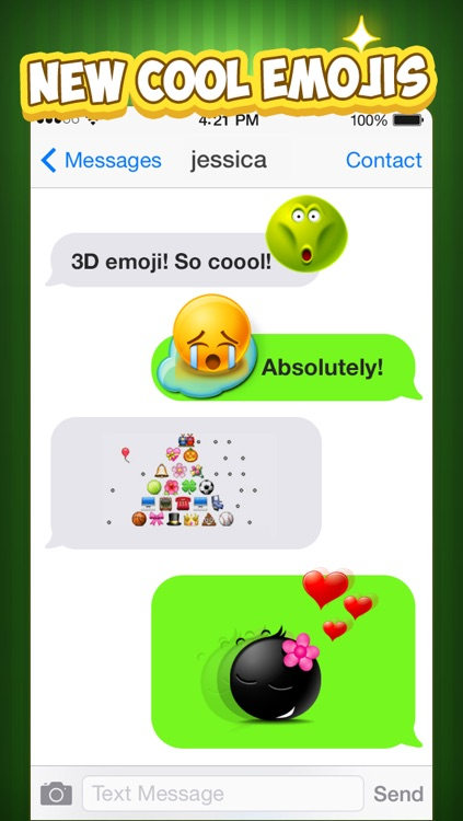 Emoji Keyboard for iOS8 - 3D Animated Emoticons Keyboard Free